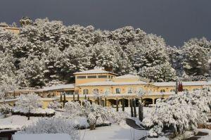 nieve en Arabella Golf Mallorca