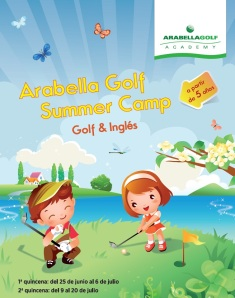 poster Arabella Golf Summer Camp_son Muntaner