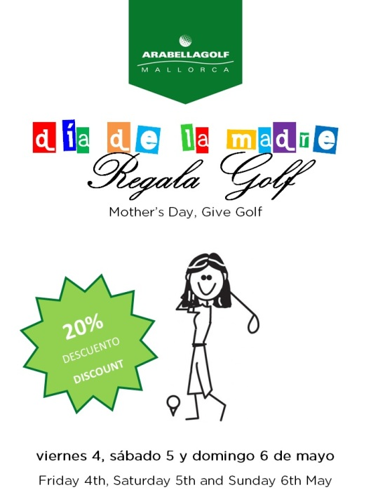 dia de la madre_regala golf en Arabella