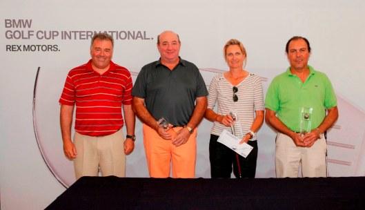 Ganadores del torneo BMW Golf Cup - Rex Motors 2012