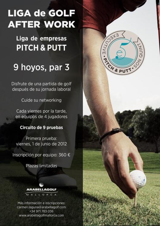 Liga after_work de golf para empresas en Arabella Son Quint Pitch and Putt