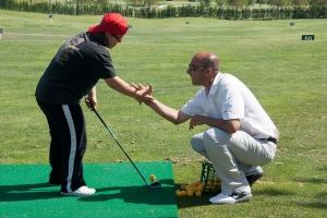 Mario Rapado, profesor de Arabella Golf Academy