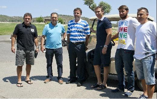 cuerpo técnico del RCD Mallorca