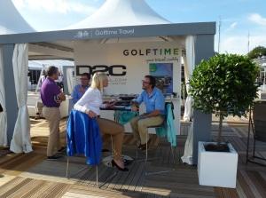 Arabella Golf en el KLM Open, en Utrecht