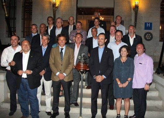 Entrega de trofeos en el Castillo Hotel Son Vida