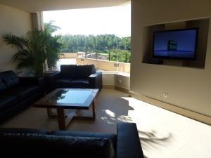 Nueva ubicación y mobiliario del salón TV en Restaurante Son Muntaner