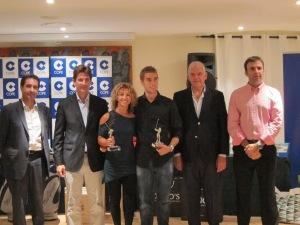 Juan González, Irma Alanzolen, ganadores de XVII Torneo Cope en Golf Son Muntaner
