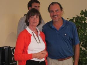 Jose Manuel Otrin, ganador 1a categoria indistinto, torneo Golfino