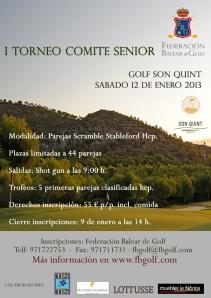 primer torneo comite senior Arabella Golf Son Quint