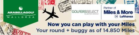 Arabella Golf en Miles&More
