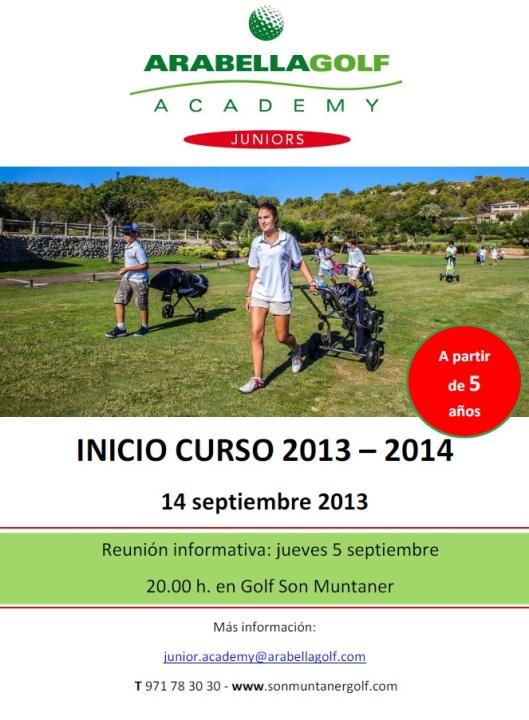 inicio curso junior academy