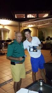 1er Clasificado : Paul Magnus Kucan (recogió el premio en su nombre Juan Muñoz)