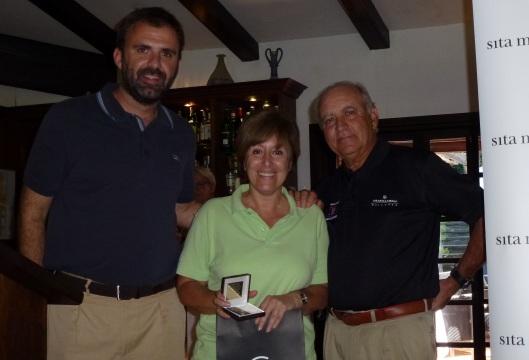 Patricia Aliu, ganadora handicap segunda categoría