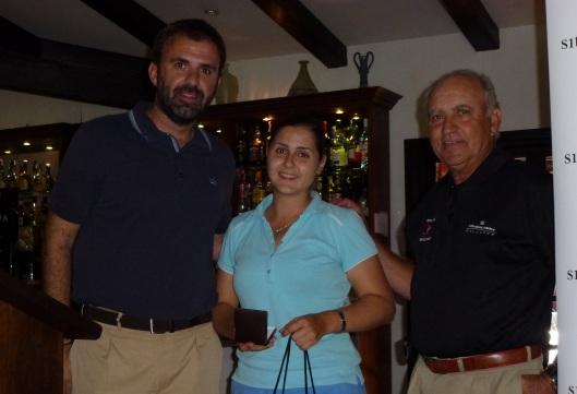 Sara Salamanca, ganadora handicap, primera categoría
