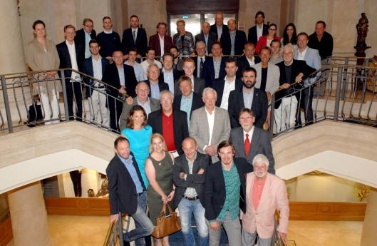 Todos los participantes en la Mallorca Press Cup 2014