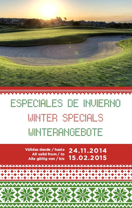Especiales de Invierno 2014-2015 Arabella Golf Mallorca