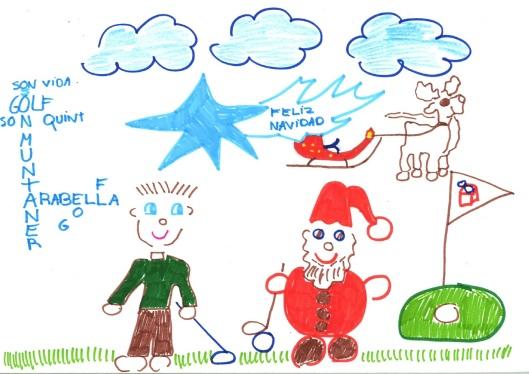 Pablo Ramos, ganador del concurso de postales, categoría >7 años